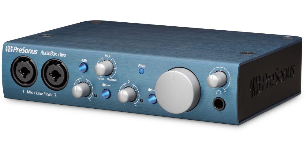 audiobox itwo interface audio midi front