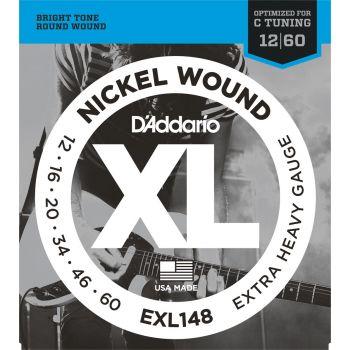 D Addario EXL-148 (012-060) Cuerdas Guitarra Eléctrica