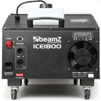 BEAMZ ICE1800 Maquina de humo bajo control DMX 160518 ( DEFECTO ESTETICO )
