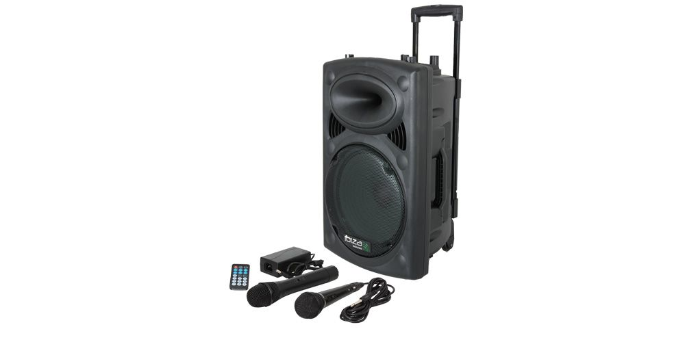 ibiza sound port10uhf bt