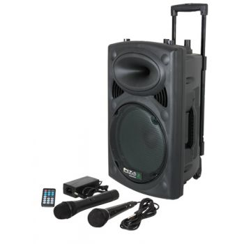 "IBIZA SOUND PORT10UHF-BT Altavoz 10"" Bluetooth con batería."