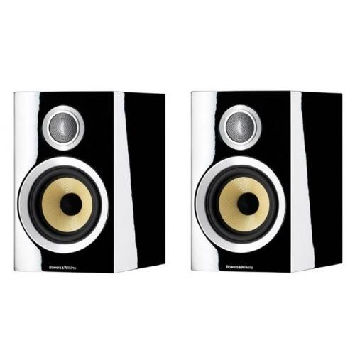 ROTEL A12 Silver Amplificador Plateado+B&W CM1S2 Negro