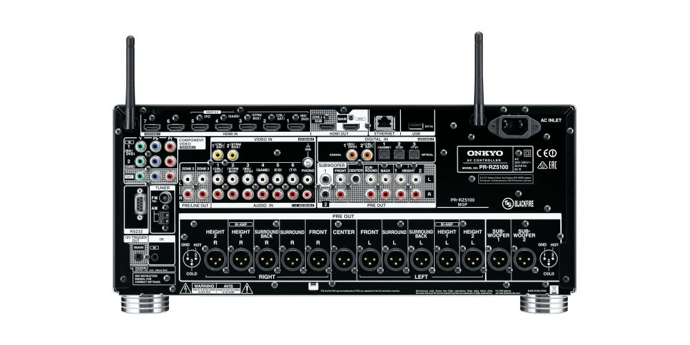Onkyo PR RZ5100 B preamplificador 11 2 thx alta gama