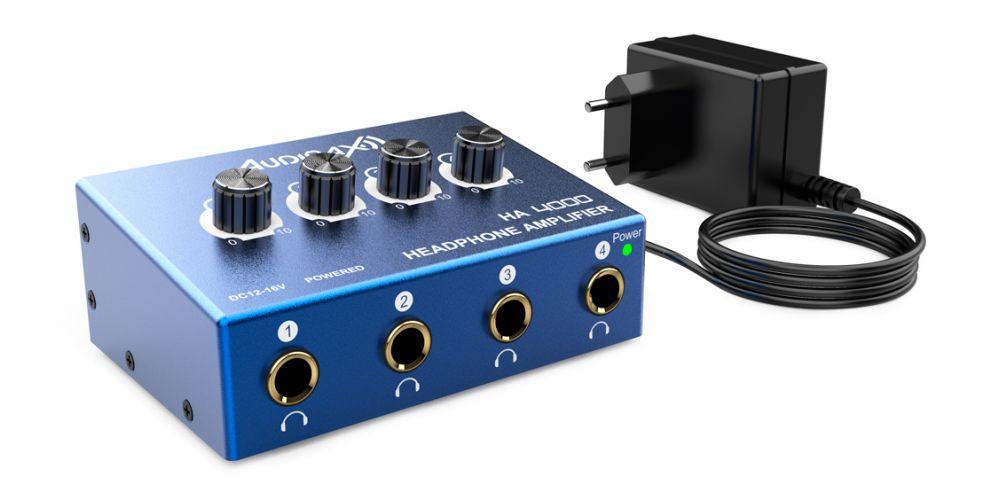 audibax ha4000 amplificador auriculares accesorios