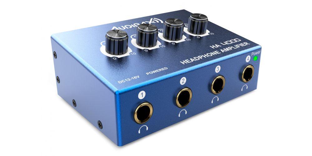 audibax ha4000 amplificador auriculares estereo
