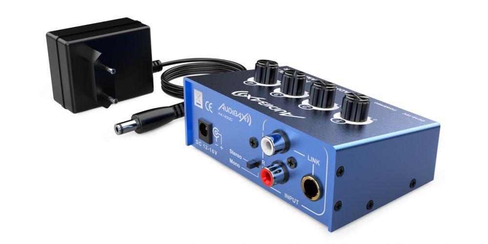 audibax ha4000 amplificador auriculares oferta