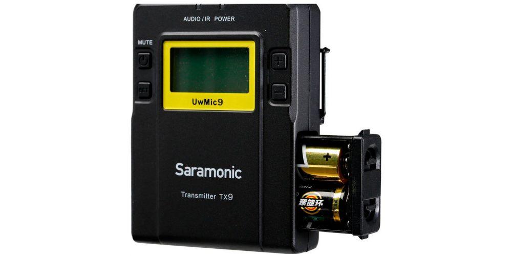saramonic uwmic9 single tx9 rx9 3
