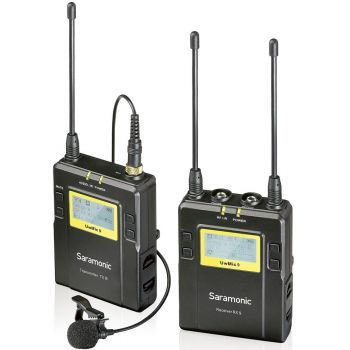 Saramonic UwMic9 Single (TX9+RX9) Mic Wireless UHF Ref: 310011
