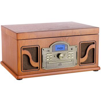 Lauson CL146 Tocadiscos Madera Bluetooth