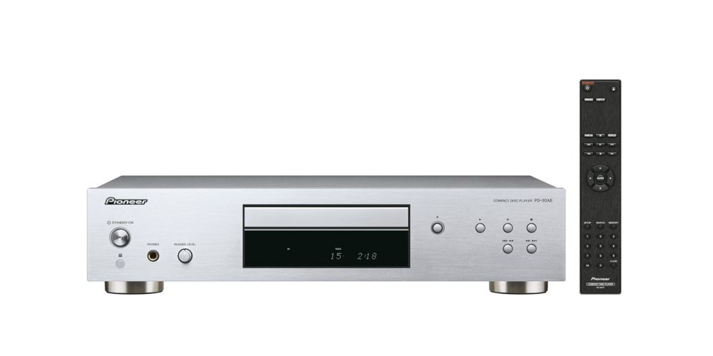 pioneer pd 30ae silver compact disc