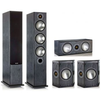 MONITOR AUDIO Bronze 6-AV BK, Kit  BRONZE B6 + BRONZECENTER + BRONZE FX