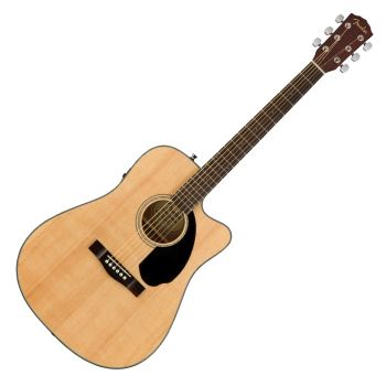 Fender CD-60SCE Natural Guitarra Acústica