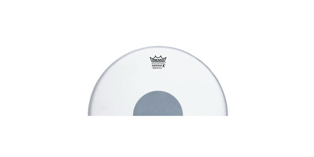 remo emperor x coated 14 parche logo