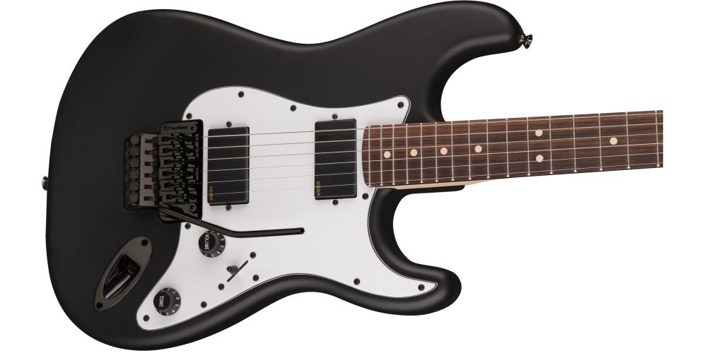 fender squier contemporary active stratocaster 2h rvs flat black cuerdas