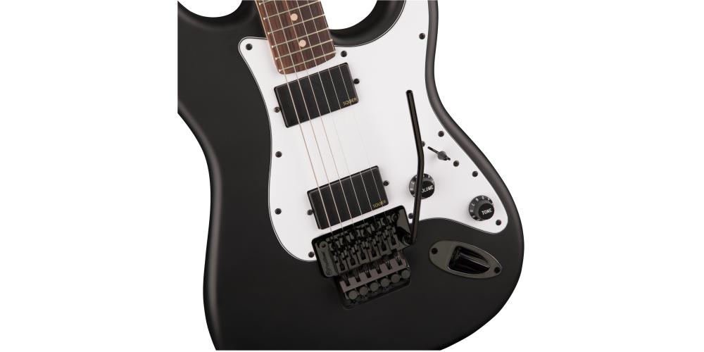 fender squier contemporary active stratocaster 2h rvs flat black cuerpo