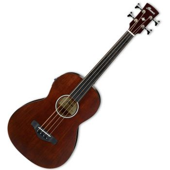Ibanez AVNB1FE-BV Parlor Fretless Brown Violin