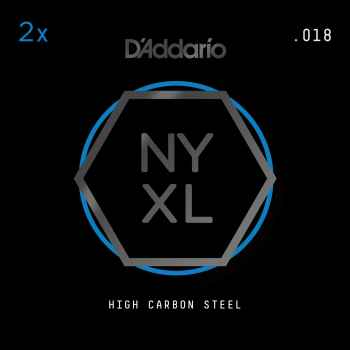 D´addario Pack 2 x NYPL018 Cuerdas para guitarra electrica