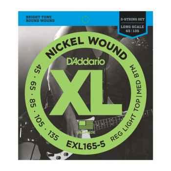 D´addario EXL165-5 5 cuerdas para Bajo