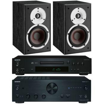 Onkyo A9030K+C7030K+Dali Spektor 2Bk, Conjunto Audio