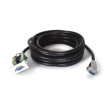 Fonestar WP-51V-5 Panel de conexión VGA con cable 5 m