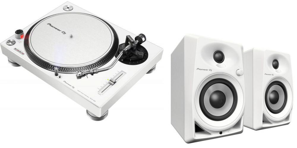 e0db9e7b50a PIONEER Pack PLX 500 Blanco + DM40WH