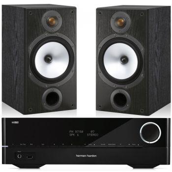 HARMAN KARDON HK-3770+Monitor Audio MR2Conjunto Audio
