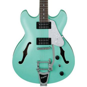 Ibanez AS63T-SFG Sea Foam Green Guitarra Eléctrica Hollowbody con Tremolo