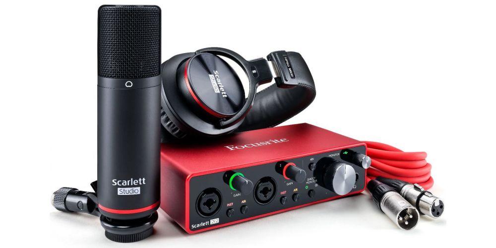 oferta Focusrite Scarlett 2i2 Studio Pack 3nd Gen