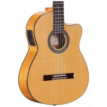 Alvarez CF6CE Cádiz. Guitarra Clásica Flamenco Electrificada + Funda