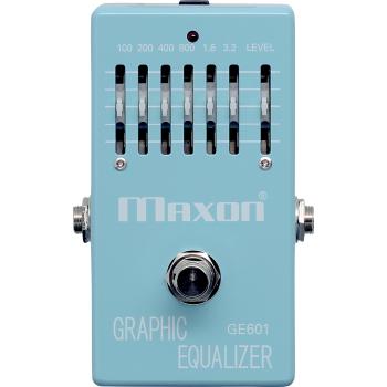 Maxon GE-601 Graphic Equalizer Pedal Efectos Guitarra