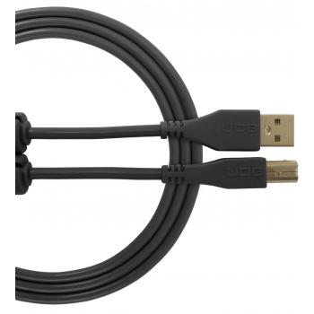 Udg U95003BL Ultimate Cable USB 2.0 A-B Negro 3 Metros