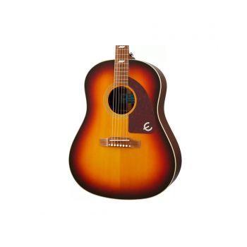 Epiphone Masterbilt Texan Faded Cherry Aged Gloss Guitarra Electro/acústica