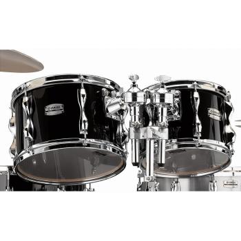 Yamaha Recording Custom Solid Black Set Toms 10/12/14 RBP4F3SOB