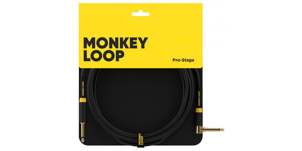 monkey loop pro stage silent cable jack mono jack acodado packaging