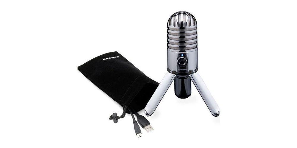 SAMSON METEOR Microfono de Condensador Cardioide USB meteor