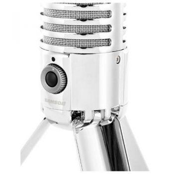 SAMSON METEOR Mic Micrófono de Condensador Cardioide USB