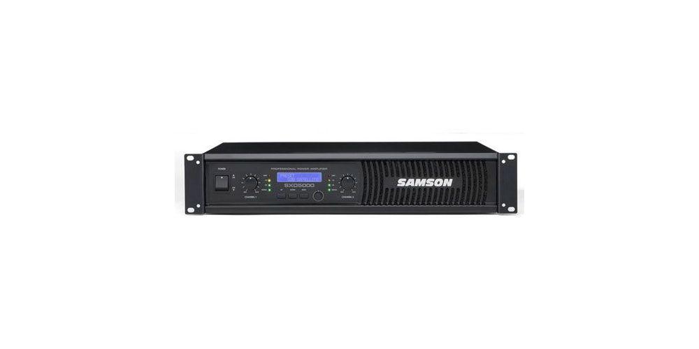 SAMSON SXD-5000 Etapa Potencia 750W X 2 Unidad