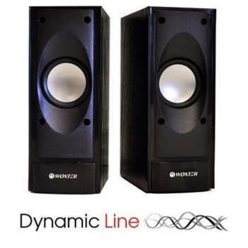 WOXTER DL-10  Dinamic Line Altavoces Multimedia Audio  2.0
