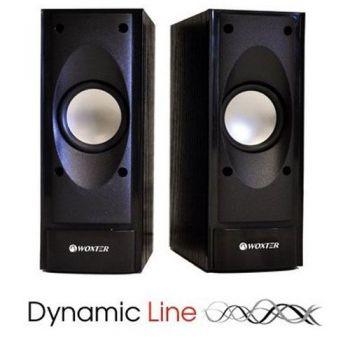 WOXTER DL-10  Dinamic Line Altavoces Multimedia Audio  2.0