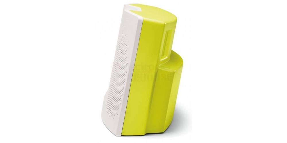 bose soundock xt amarillo blanco iphone5 detalle lateral