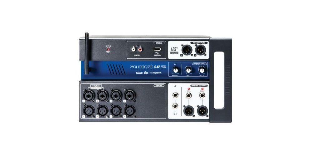 SOUNDCRAFT UI12 Mezclador 12 Canales