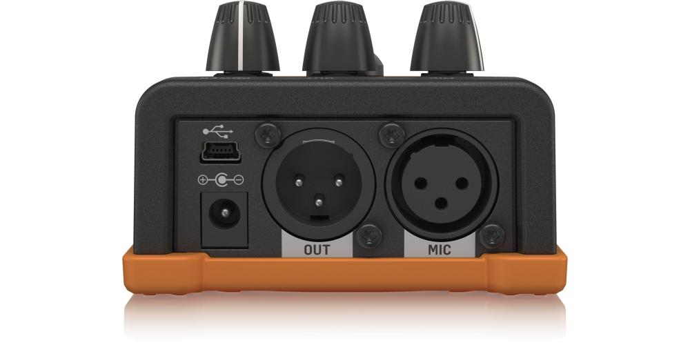 tc helicon voicetone e1 efectos voz pedal