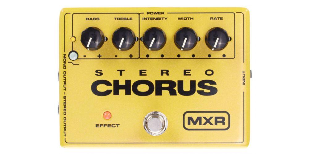dunlop mxr m134 stereo chorus front