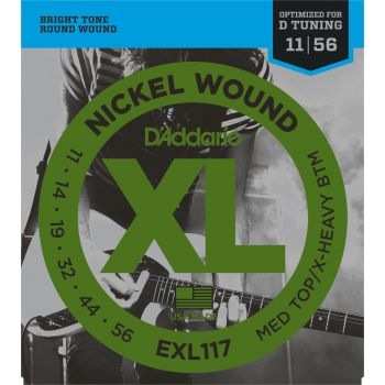 D Addario EXL-117 (011-056) Cuerdas Guitarra Eléctrica