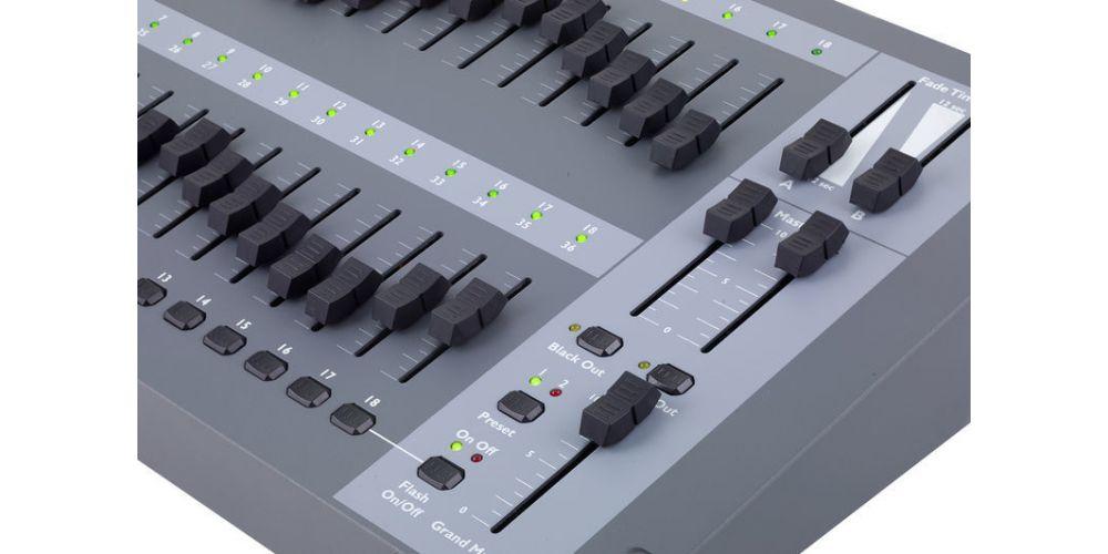 showtec easy fade36 controles