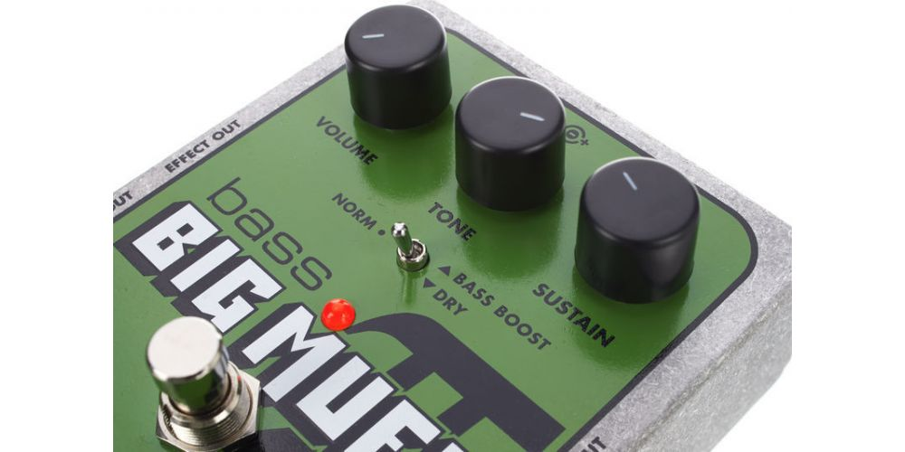 elektro harmonix bass big muff pi controles