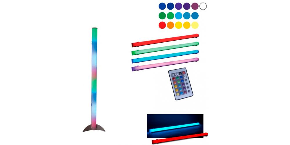 american dj led color tube ii 2