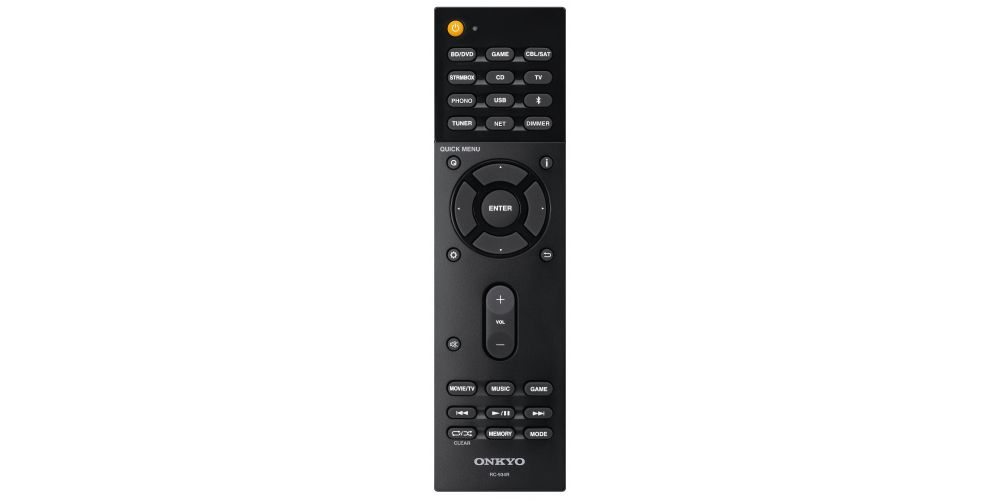 onkyo TX L20D mando distancia