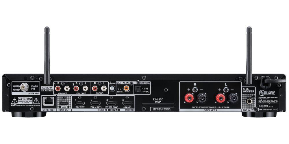 onkyo TX L20DB conexiones