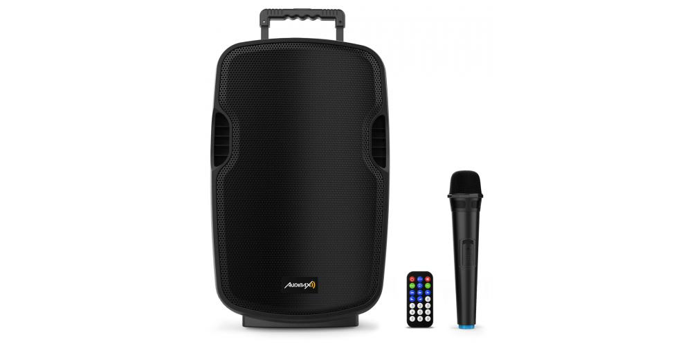 audibax denver combo port10 vhf altavoz bateria comprar